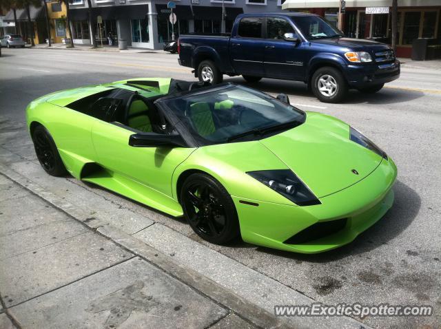 Lamborghini Murcielago spotted in Ft. Lauderdale, Florida ...