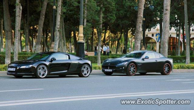 Maserati Granturismo Spotted In Baku Azerbaijan On 12 19 2011 Photo 2