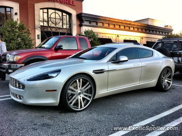 Aston Martin Rapide Spotted In Atlanta Georgia On - Aston martin georgia