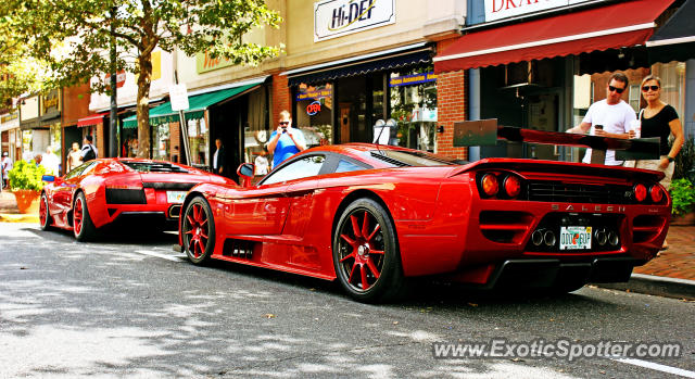 Saleen S7 spotted in Red Bank, New Jersey