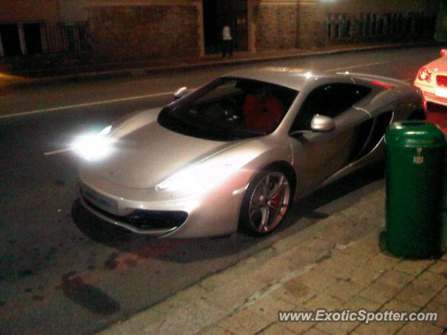 Mclaren MP4-12C spotted in Cape Town, South Africa