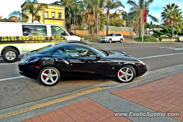 Ferrari 575M spotted in La Jolla, California
