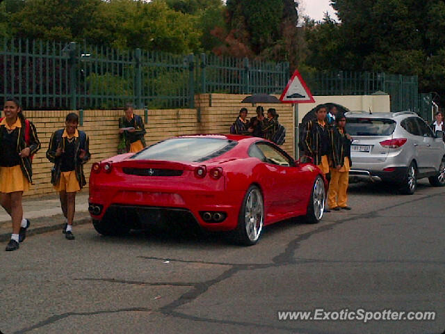 Ferrari F430 Spotted In Benoni South Africa On 01 23 2012
