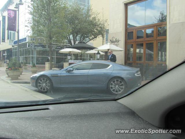 Aston Martin Rapide Spotted In Dallas Texas On Photo - Aston martin dallas
