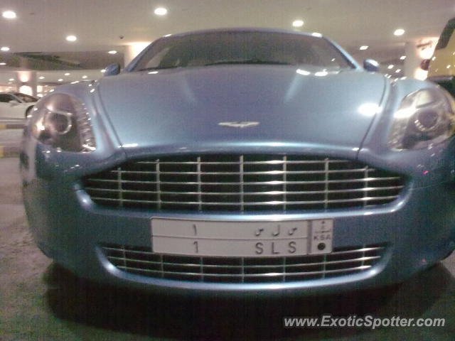Aston Martin Rapide spotted in Dubai, United Arab Emirates