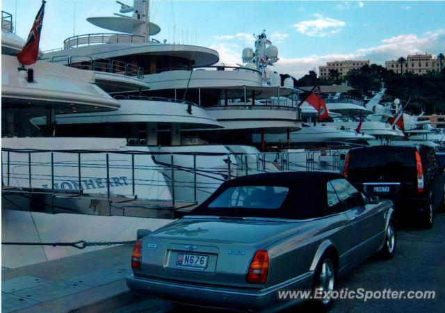 Bentley Azure spotted in Monte Carlo, Monaco