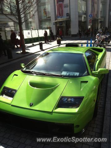 Lamborghini Diablo Spotted In Yokohama Japan On 02 12 2012