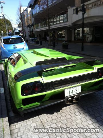 Lamborghini Diablo Spotted In Yokohama Japan Japan On 02 12 2012