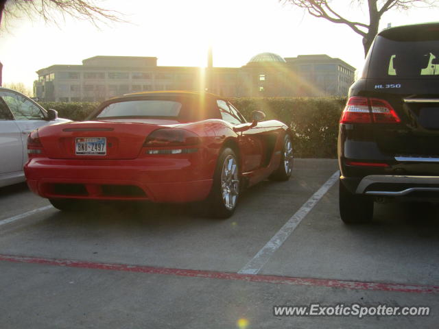 Dodge Viper spotted in Dallas, Texas