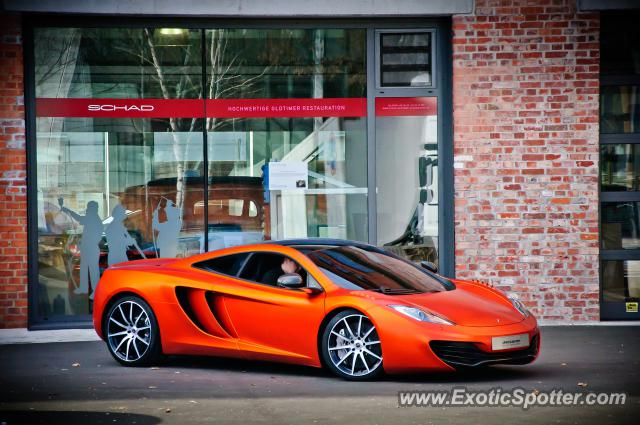Mclaren MP4-12C spotted in Frankfurt, Germany