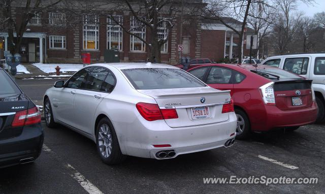 Bmw Alpina B7 Spotted In Newton Centre Massachusetts On 03 02 2012