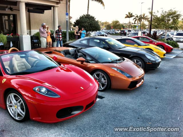 Ferrari 612 spotted in Naples, Florida on 03/02/2012