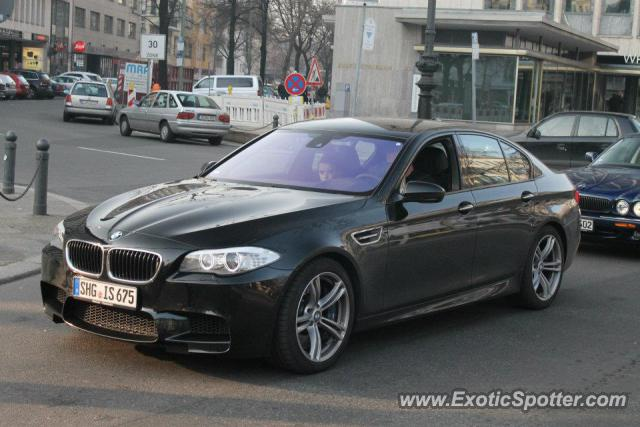bmw m5 spotted in berlin germany on 03 17 2012. Black Bedroom Furniture Sets. Home Design Ideas