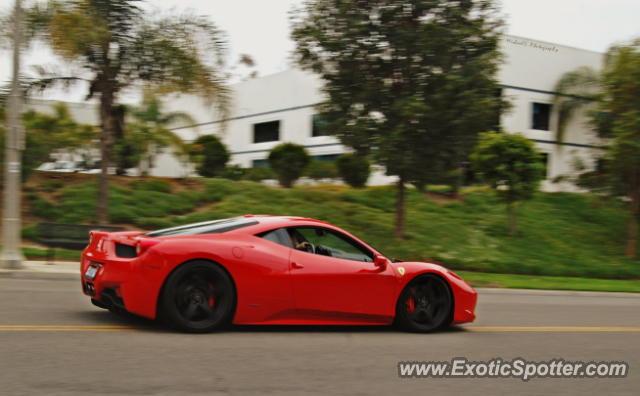 Ferrari 458 Italia Spotted In Vista California On 03 31 2012