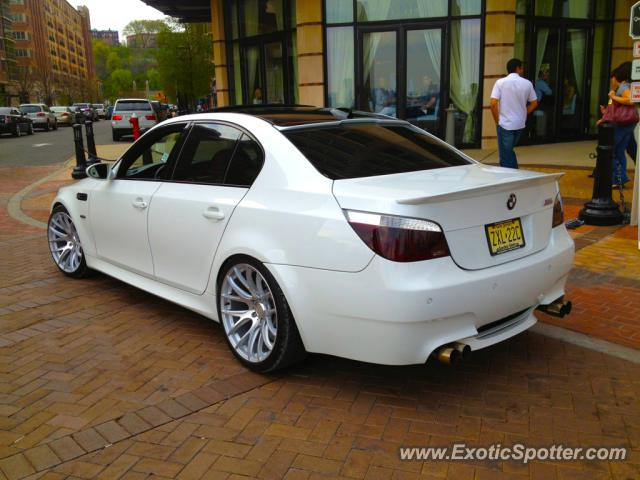 bmw m5 spotted in west new york new jersey on 04 15 2012. Black Bedroom Furniture Sets. Home Design Ideas
