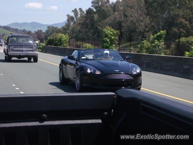 Aston Martin DB Spotted In Walnut Creek California On - Aston martin walnut creek