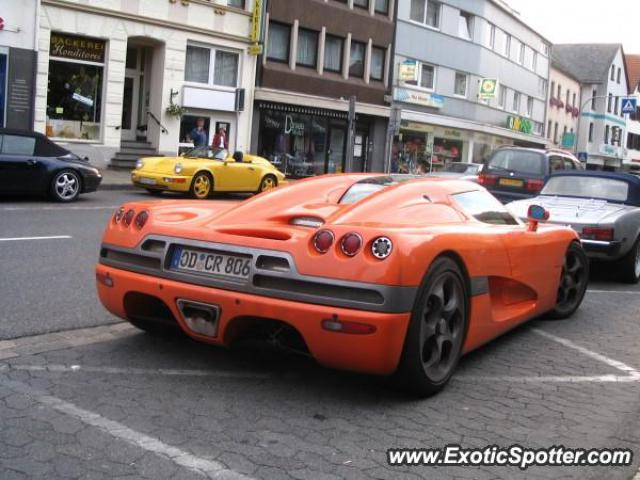 Koenigsegg CCR spotted in Adenau, Germany