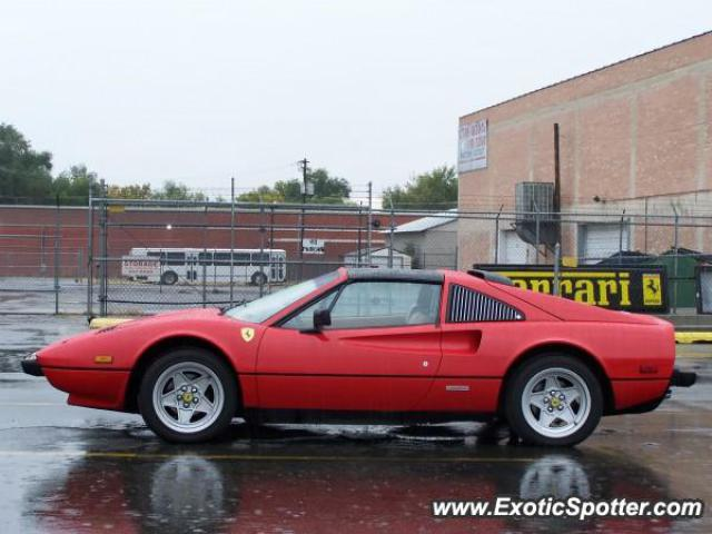 ferrari 308 spotted in salt lake city utah on 11 19 2005. Black Bedroom Furniture Sets. Home Design Ideas