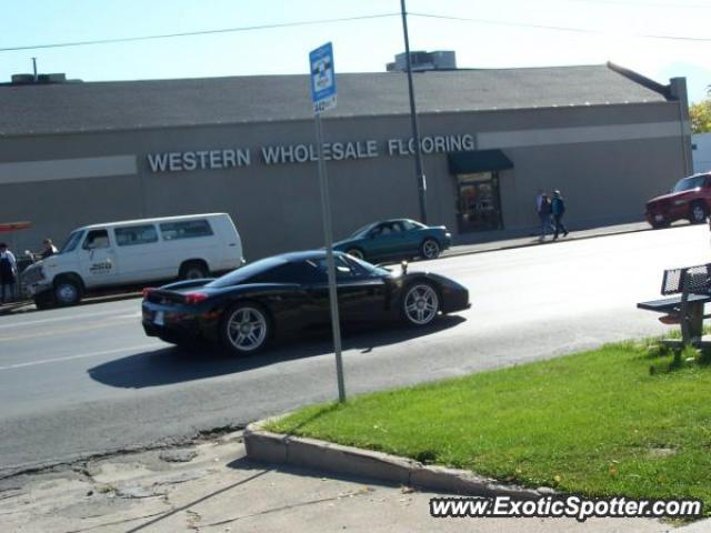 ferrari enzo spotted in salt lake city utah on 11 19 2005. Black Bedroom Furniture Sets. Home Design Ideas