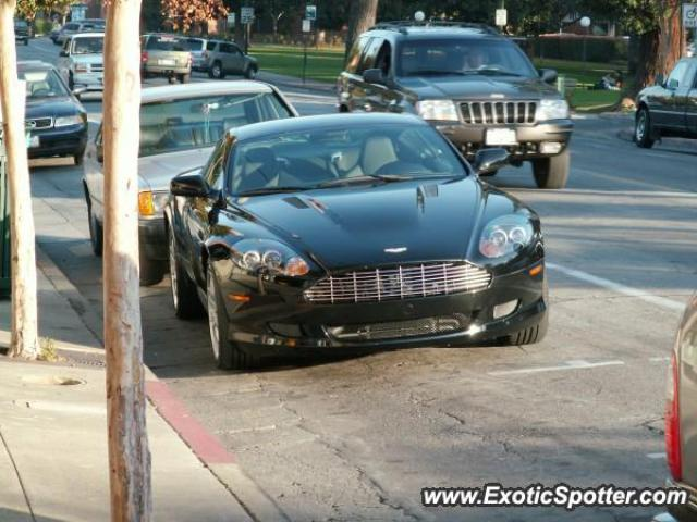 Aston Martin DB Spotted In Los Gatos California On - Los gatos aston martin