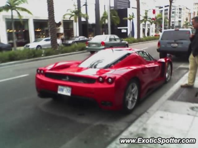 Ferrari Enzo Spotted In Beverly Hills California On 12052005