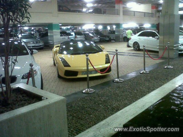 Lamborghini Gallardo spotted in Durban, South Africa