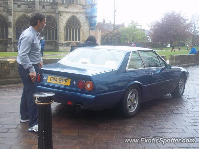 Ferrari 412 spotted in Exeter, United Kingdom