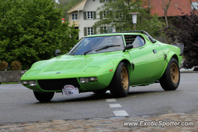 Lancia Stratos spotted in Wangen, Switzerland