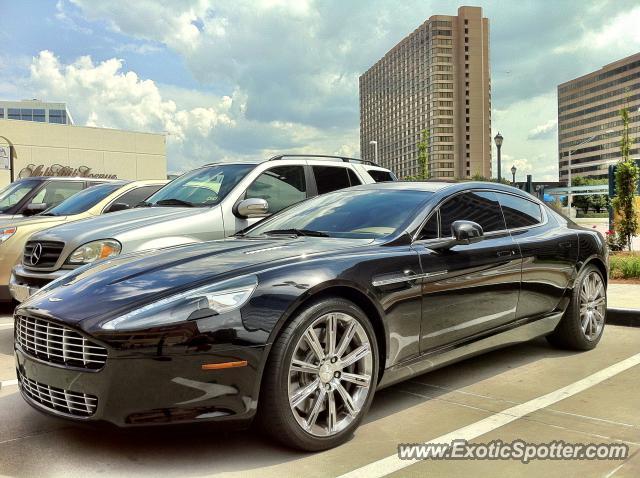 Aston Martin Rapide Spotted In Atlanta Georgia On - Aston martin atlanta
