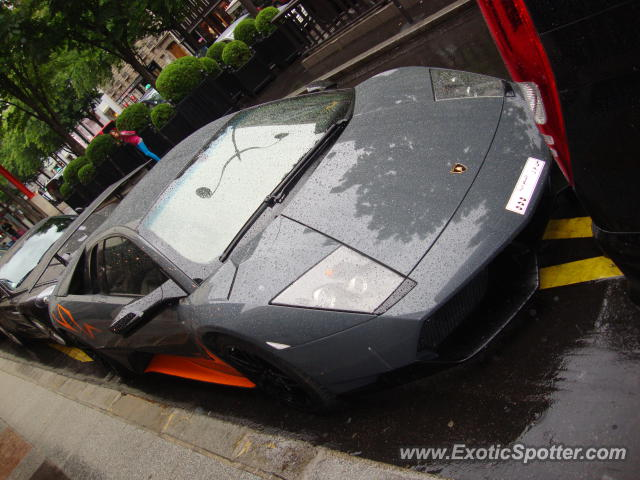lamborghini murcielago spotted in paris france on 05 19 2012. Black Bedroom Furniture Sets. Home Design Ideas