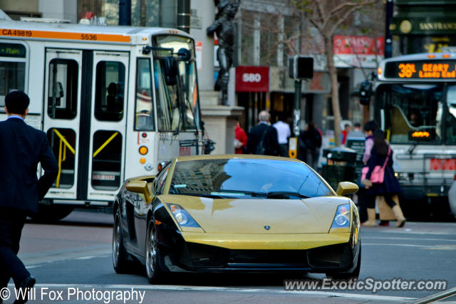Lamborghini Gallardo Spotted In San Francisco California