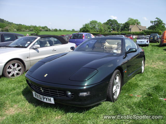 Ferrari 456 spotted in Prescott, United Kingdom