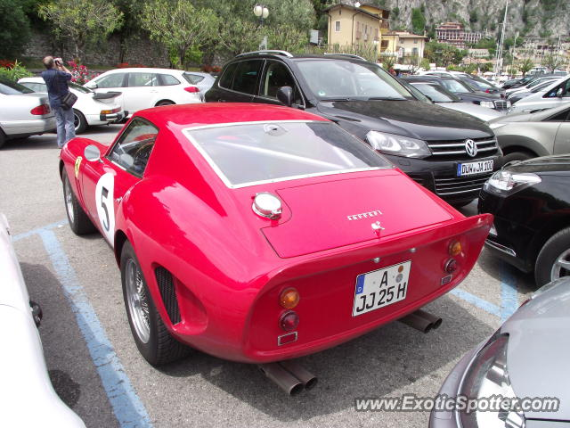 Ferrari 250 spotted in Limone, Italy