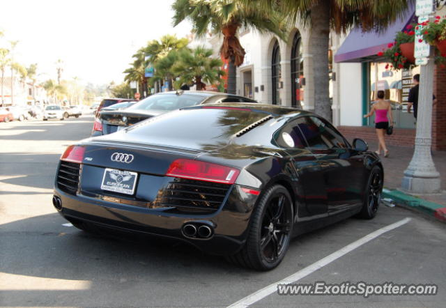 audi r8 spotted in la jolla california on 04 07 2012. Black Bedroom Furniture Sets. Home Design Ideas