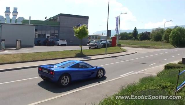Mclaren F1 spotted in Geneva, Switzerland