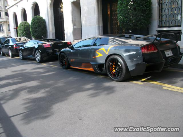 lamborghini murcielago spotted in paris france on 05 30 2012. Black Bedroom Furniture Sets. Home Design Ideas