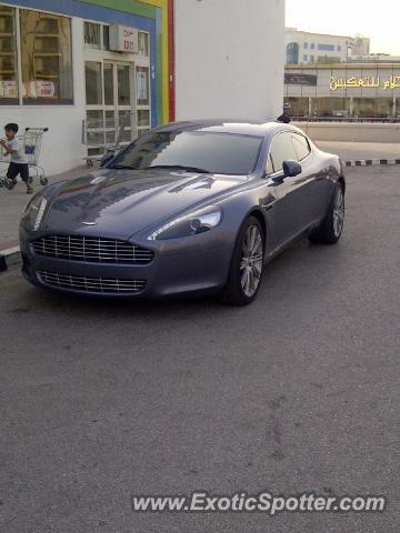 Aston Martin Rapide Spotted In Doha Qatar Qatar On 06 16 2012
