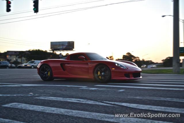 Porsche Carrera Gt Spotted In St Petersburg Florida On