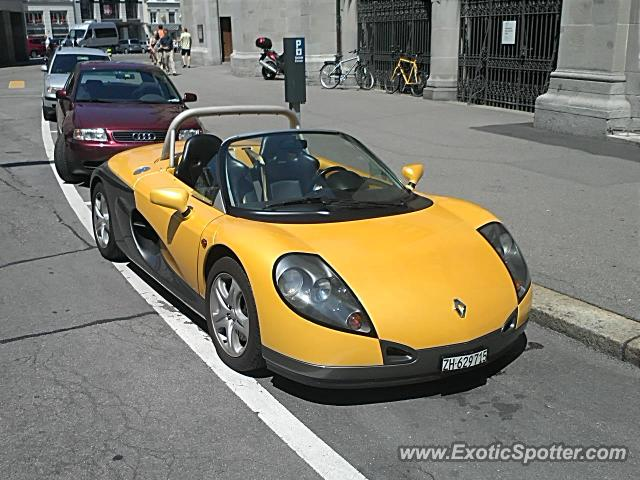 Renault Spider spotted in Zurich, Switzerland