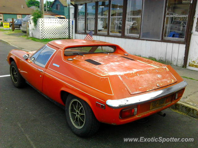 Lotus Europa spotted in Sodus Point, New York