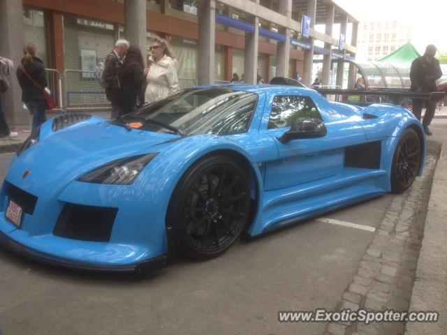 Gumpert Apollo spotted in Le Mans, France