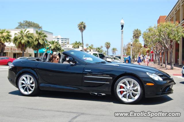Mercedes slr spotted in la jolla california on 05 21 2012 for Mercedes benz la jolla