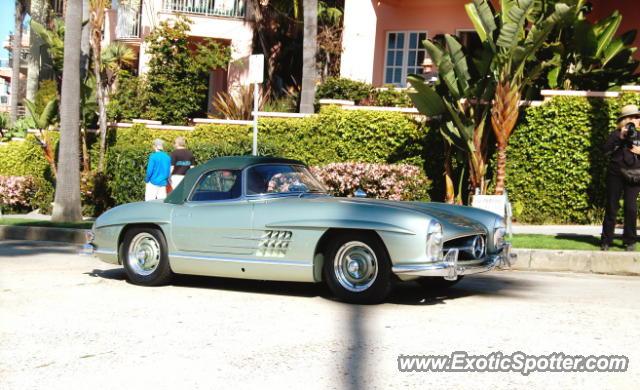 Mercedes 300sl spotted in la jolla california on 04 01 2012 for Mercedes benz la jolla