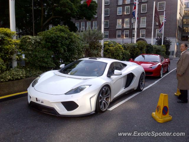 mclaren mp4-12c spotted in london, united kingdom on 06/28/2012, photo 2