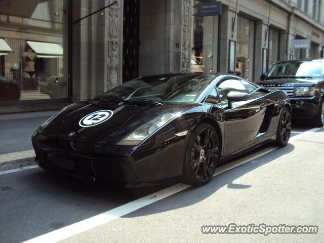 Lamborghini Gallardo Spotted In Zurich Switzerland On 06