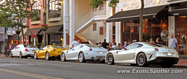 Ferrari 599GTO spotted in Red Bank, New Jersey