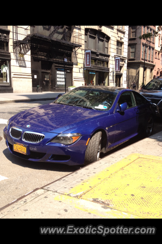 BMW M6 spotted in Manhattan, New York