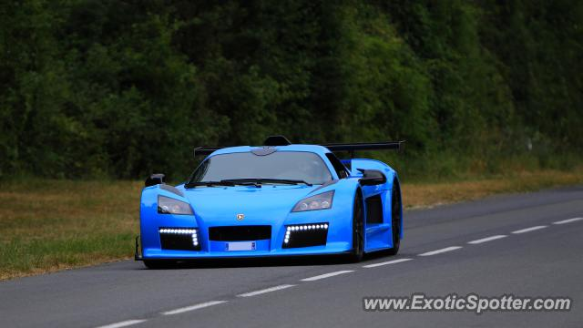 Gumpert Apollo spotted in Le Vigeant, France