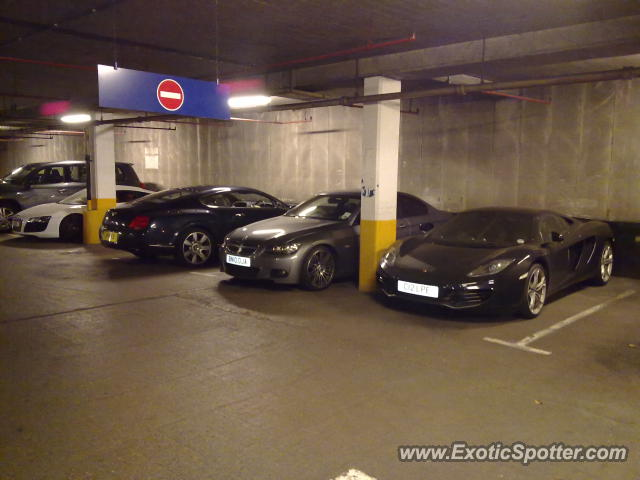 mclaren mp4-12c spotted in london, united kingdom on 07/03/2012