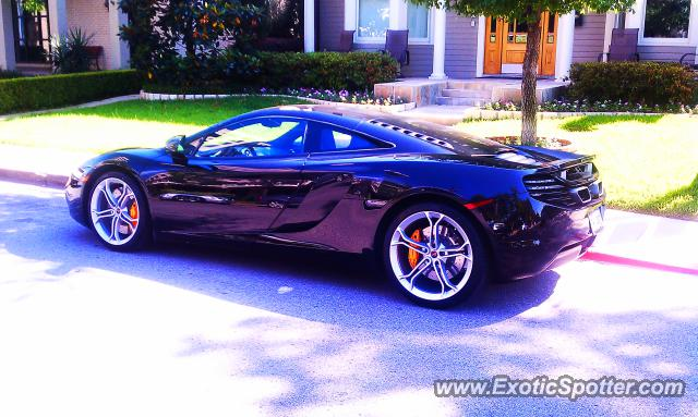 Mclaren MP4-12C spotted in Houston, Texas